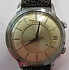 Stainless Jaeger Lecoultre Auto Date Alarm Watch