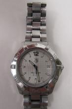 TAG HEUER AQUARACER STAINLESS AUTOMATIC WATCH