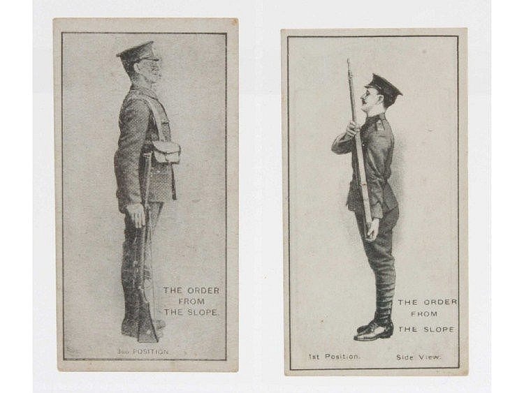 Cigarette cards, Military, Imperial Tobacco Co,