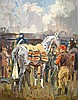 Biegel, Peter - Point to Point at Wincanton, Oil on board, 14 x 11