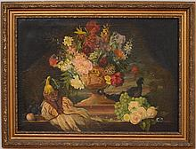European School: Still Life with Flowers