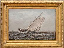 JAMES GALE TYLER (1855-1931): A STIFF BREEZE