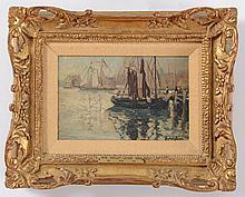 HALEY LEVER (1876-1958): FISHING BOAT, NANTUCKET, MASSACHUSETTS