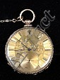 PERRENOUD 18K GOLD POCKET WATCH