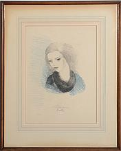 MARIE LAURENCIN (1883-1956): EMILIE, 1930