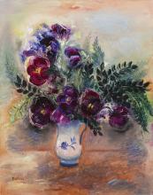 Israeli & International Fine Art including works from Estate of Monica Hollander
