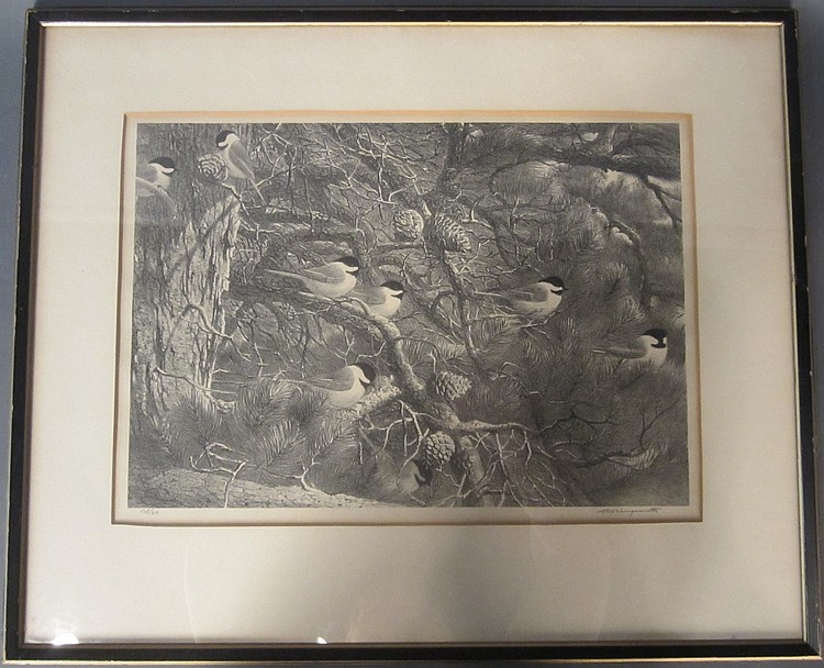 Stow Wengenroth, American (1906 - 1978) Lithograph