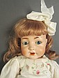 Rare Konig & Wernicke Bisque Head Doll
