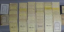 Over 50 Volumes of Collection Litolff