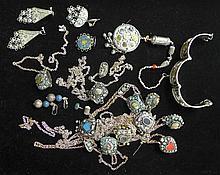 Assortment of Bohemian Style Jewelry