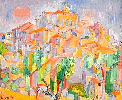 ANDR LHOTE Frankrike 1885-1962 Paysage Provenoal