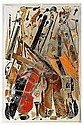FERNANDEZ ARMAN France 1928-2005 Accumulation,  Arman, Click for value