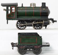 Marklin gauge 1 981 steam locomotive and tender