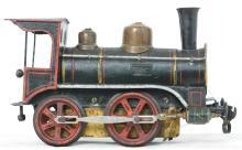 Early Marklin Gauge 1 clockwork locomotive