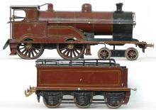 Marklin gauge I 2663 George the Fifth clockwork steam locomotive  & tender