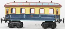 Repainted Marklin gauge 1 passenger coach