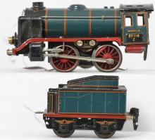 Marklin O gauge R 66/12910 steam locomotive & tender
