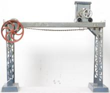 Doll overhead crane steam or manually powered