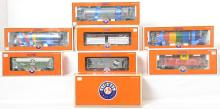 9 Lionel O gauge freight cars 27169 17714