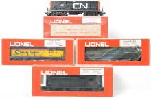 4 Lionel locomotives 8031, 8463, 8471, and 8357
