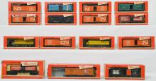15 Rivarossi boxed American freight cars 2212, 2238, 2239, etc
