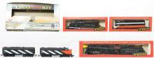 4 Tyco locomotives NYC, NH, PRR, CN  GP20, F9, etc
