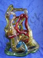 Vintage Absctract Modernist Acrylic Sculpture