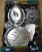 Collection of silver plate including Mappin &