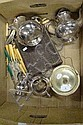 Silver plate items incl Walker & Hall coffee & tea