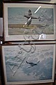 Two prints of Spitfires: Fighting Lady by Graeme