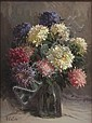 RUDOLPH COLAO (AMERICAN, B. 1927) FLORAL STILL LIFE., Rudolph Colao, Click for value
