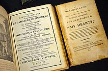 Two 19th century true crime books.