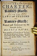 1686 English Law Book.