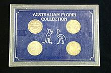 Australian Florin Collection