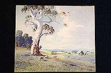 Original Watercolour by Victor Robert Watt