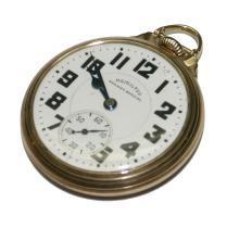 Hamilton 10k Gold Filled Case Railroad Special 21 J Pocketwatch