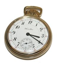 Hamilton 10k Gold 23 Jewel Pocket Watch Model #950 Circa 1916
