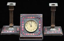 Tiffany Furnace Clock