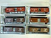 BOX CARS FOR MODEL TRAINS: ALL BY PROTO 2000 SERIES, HO, 50' SINGLE DOOR (6 TOTAL). ALL BRAND NEW IN BOXES.