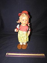 RARE GIRL HUMMEL DOLL