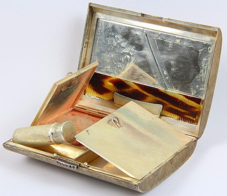 Mario Buccellati Silver Compact