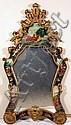 Decorated Rococo Style Mirror