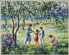 Edward Dufner watercolor