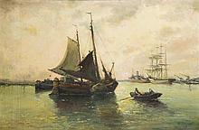 Nicholas Briganti (1861-1944), MA, Italy, oil on canvas