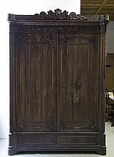 Rosewood Continental Wardrobe/Armoir