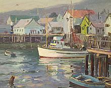 Carolus Verhaeven, Dutch/California(1908-1956), oil on masonite