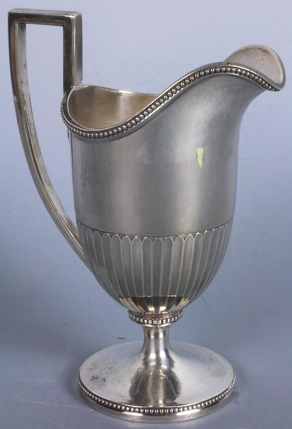New York Coin Silver Creamer, Ball Black & Co.