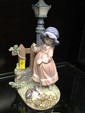 Llardo Figurine of Lady and Cat