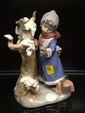 Llardo Figurine of Lady and Bird
