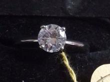 Tiffany Style Diamond Solitaire Ring